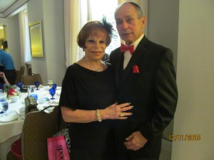Sandi Solomon and Tony Luis, ballroom dancers