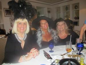 Charlotte Beasley, Maritza McIntyre and Dona Weinraub