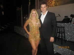 Chelsie Hightower and Jonathan Roberts of Dancing with the Stars