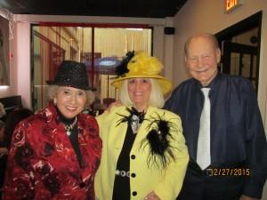 Marleen Forkas, Charlotte Beasley and Bob Beasley