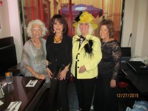 Johann Leigh, Wendy Baum, Charlotte Beasley and Karen Burke