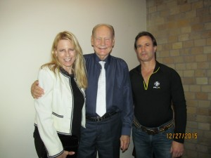 Margi Helschein, Bob Beasley and David