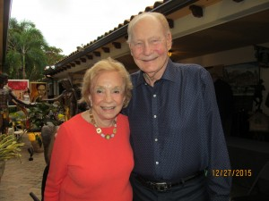 June Gelb and Bob Beasley