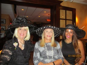 Diva Leader Charlotte Beasley, Helene Weicholz and Graziela Fisher