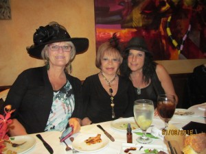 Dona Weinraub, Sandi Solomon and Gloria Fuchs