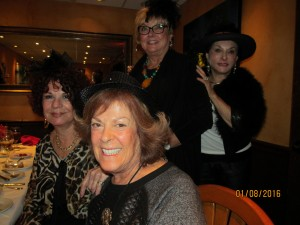 Connie Hainline, Karen Burke, Joan Dulin and Sharon Schornstein
