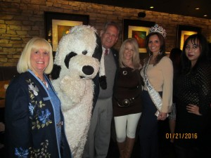 Charlotte Beasley, Dog, Robert Weinroth, Sharon DiPietro Donna Brown and Marilyn Blanco Corey