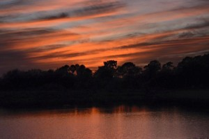 Thursday Boca Raton - Last Night's Sunset - Photo Courtesy Rick Alovis