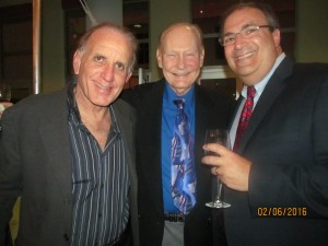 Craig Donoff, Bob Beasley and Dr. Stephen Grabelsky