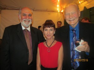 Neale Poller, Jane Tyree and Bob Beasley