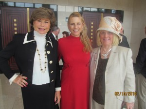 Arlene Herson, Margi Helschein and Charlotte Beasley