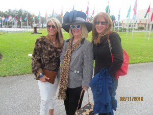 Mercedes Mottek, Charlotte Beasley and Lynda Lawless