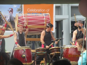 Japanese drum band