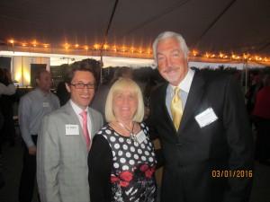Dan Mangru, Charlotte Beasley and Armand Grossman