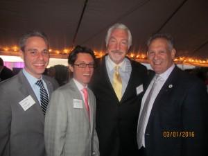 Scott Singer, Dam Mangru, Armand Grossman and Bob Weinroth