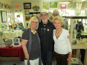 Charlotte Beasley, Yaacov Heller and Pat McCarthy