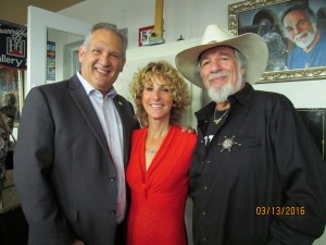 Bob and Pam Weinroth with Yaacov Heller