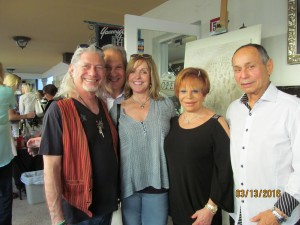David Goldstein, Maxine Sindelear, Sandi Solomon and Tony Luis