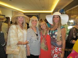 Helene Weicholz, Charlotte Beasley, Janet Epstein and Graziela Fisher