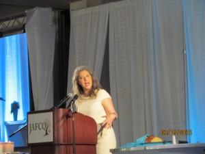 Alina Spaulding, Speaker at Jafco Luncheon