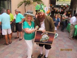 Charlotte Beasley and Irish Elf Scott Randazzo