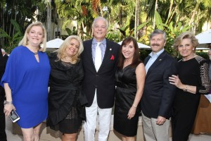 Bonnie Kaye, Lauren May Malis, Jon Kaye, State Representative Lori Berman, Dr. Jeff Ganeles and Pat Thomas