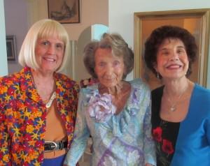 Charlotte Beasley, Flossy Keesley and Rosemary Krieger