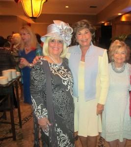 Charlotte Beasley, Arlene Herson and Carole Wilson