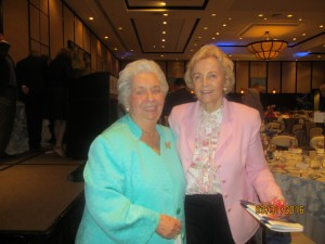 Helen Babione and Elaine Wold