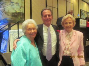 Helen Babione, Dr. Oranberg and Elaine Wold