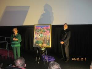 Yvonne Boice and Yaacov Heller