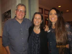 Adrienne Mazzone with Father Joseph Movie Producers