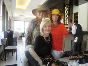 Mondessa Swift, Dona Weinraub and Wendy Galit