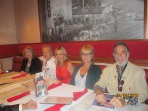 Pat Riley, Doug and Silva, Dona Weinraub and Yaacov Heller