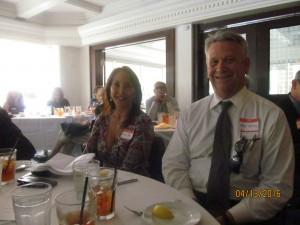 Linda Knox with Ross Gaffney