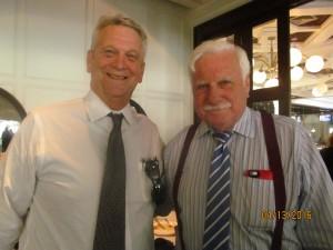Ross Gaffney with Coach Howard Schmellenberger