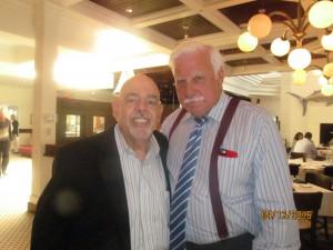 Barry Epstein with Coach Howard Schnellenberger