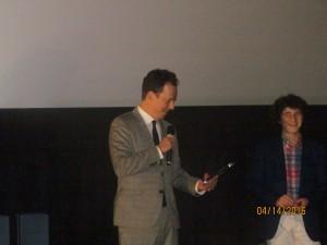 """Film award for the movie """"Pawo"""""""