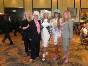 Dona, Charlotte, Helene, Graciela and Evalyn, Black Hat Diva's who support Jafco