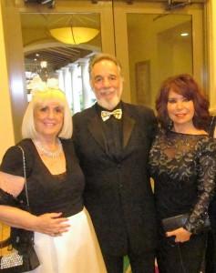 Charlotte Beasley, Yaacov Heller and Wendy Baum