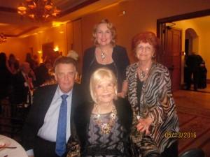 Mondess and, Richard and Pat Riley and Glenda Laser