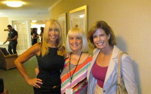 Pam Polani, Charlotte Beasley and Heidi Rucker