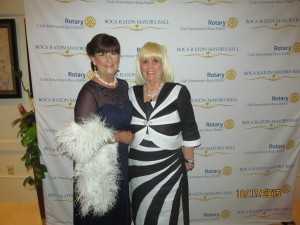 Mayor Susan Haynie and Charlotte Beasley at the Mayor's Ball