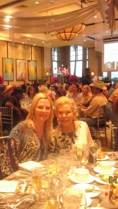 Palm Beach Socialite Lois Pope and friend