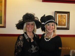 Charlotte Beasley and Marilyn Weinberg
