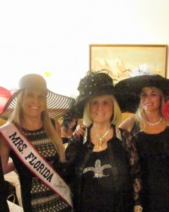 Mrs. Florida, Karen Turk, Charlotte Beasley and Danielle Silverman