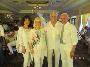 Wendy Baum, Charlotte Beasley, Host, Steve Fox and Stan Margolis
