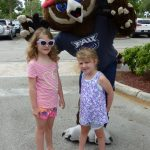 Summer Reading Kick Off Party June 11 FAU Mascot Owlsley with Kids