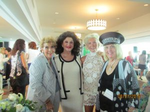 Yvonne Boice, Christine Lynn, Patti Carpenter and Charlotte Beasley