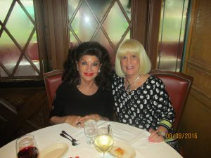 Christine Lynn and Charlotte Beasley at Trattoria Romana